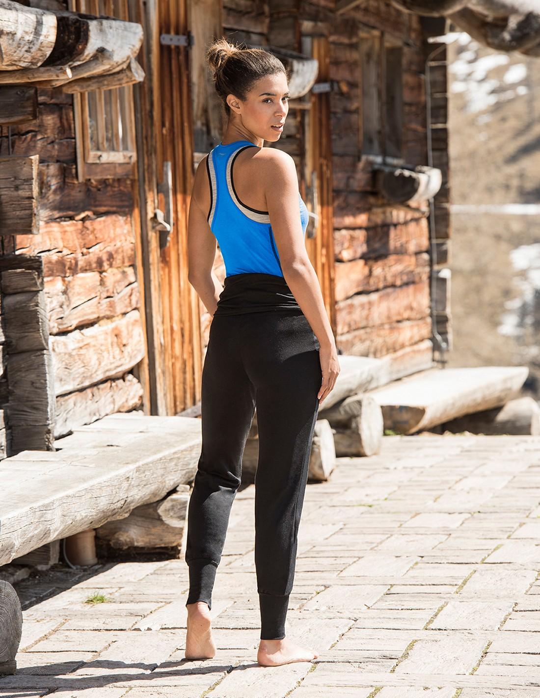 Engel Sports-Yoga Pantalon Pour Femmes-Fait de laine et soie
